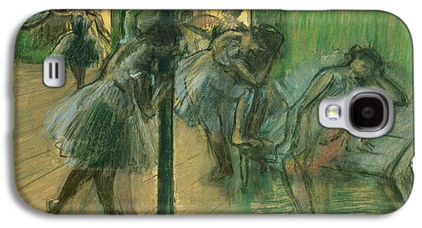 Dancers Rehearsing Galaxy S4 Case by Edgar Degas