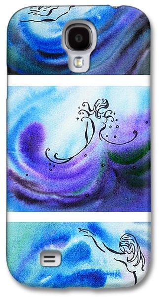 Dancing Water V Galaxy S4 Case