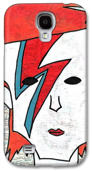 David Bowie Galaxy S4 Case by Jera Sky