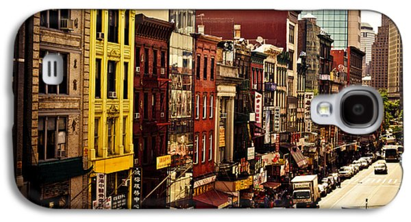 Density - Above Chinatown - New York City Galaxy S4 Case by Vivienne Gucwa