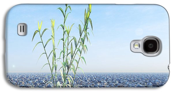Desert Plant, Artwork Galaxy S4 Case by Carl Goodman