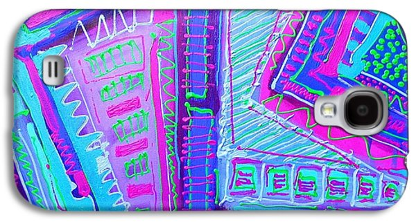 Detail From The Painting Dreamtime Galaxy S4 Case by John  Nolan