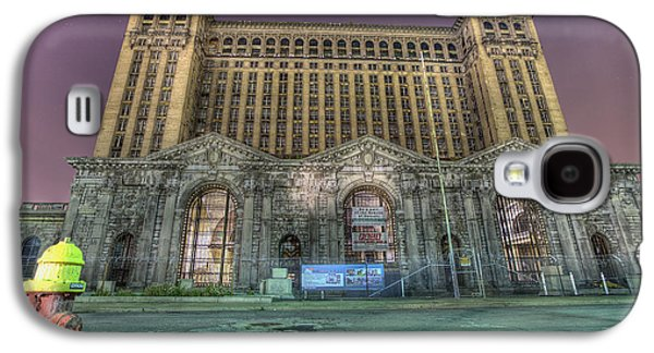 Detroit's Michigan Central Station - Michigan Central Depot Galaxy S4 Case