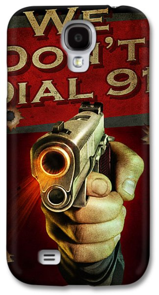 Dial 911 Galaxy S4 Case by JQ Licensing