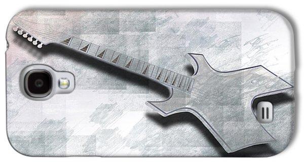 Digital-art E-guitar IIi Galaxy S4 Case by Melanie Viola