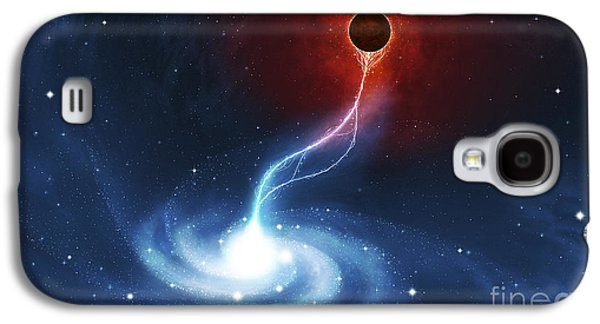 Digitally Generated Image Of A Black Galaxy S4 Case