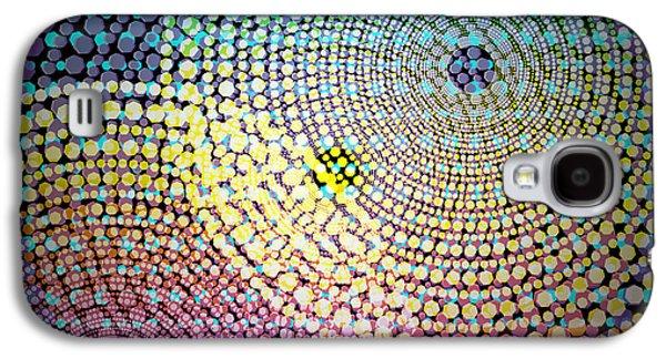 Dots Circles Galaxy S4 Case