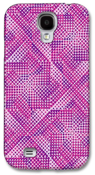 Dotty Galaxy S4 Case by Louisa Knight