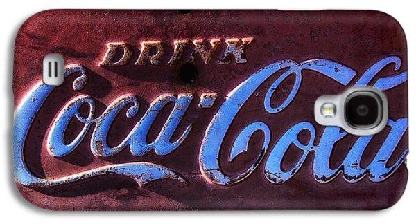 Drink Coca Cola Galaxy S4 Case by Garry Gay