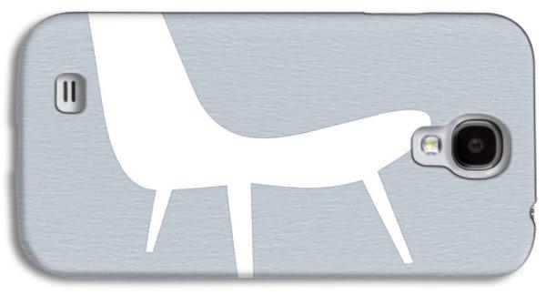 Eames White Chair Galaxy S4 Case by Naxart Studio