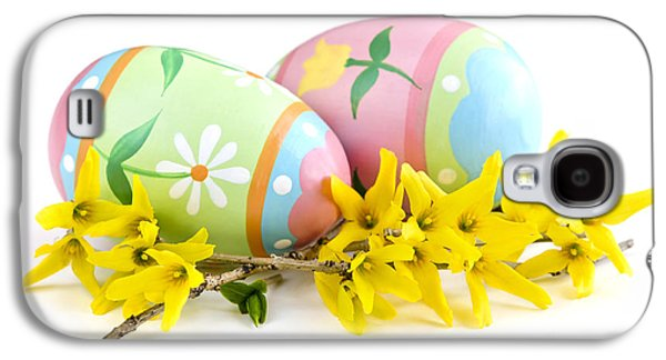 Easter Eggs Galaxy S4 Case by Elena Elisseeva