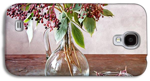 Elderberries 01 Galaxy S4 Case