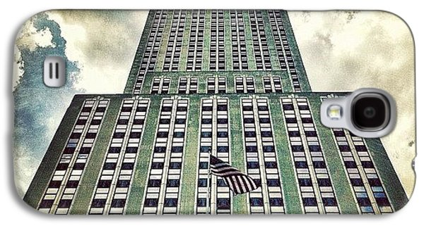 City Galaxy S4 Case - Empire State by Luke Kingma