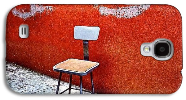 City Galaxy S4 Case - Empty Chair by Julie Gebhardt