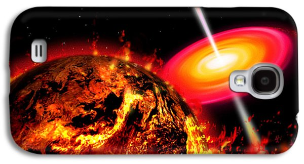 End Of The World The Earth Destroyed Galaxy S4 Case