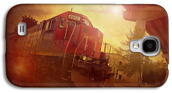 Express Train Galaxy S4 Case by Joel Witmeyer