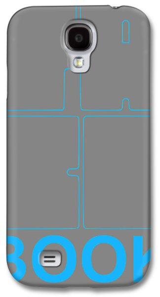 Facebook Poster Galaxy S4 Case by Naxart Studio