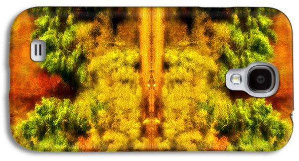 Fall Abstract Galaxy S4 Case by Meirion Matthias