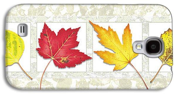 Fall Leaf Panel Galaxy S4 Case by JQ Licensing