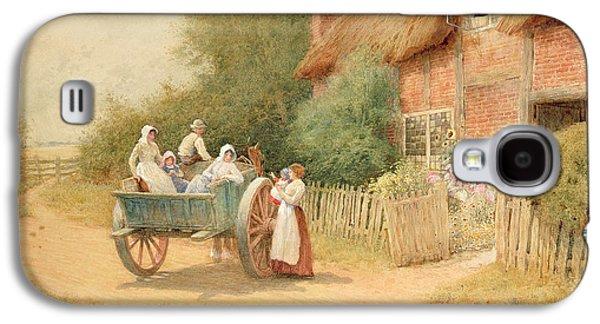 Farewell Galaxy S4 Case by Arthur Claude Strachan
