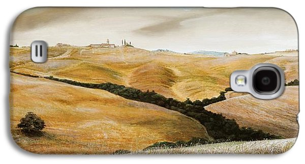 Farm On Hill - Tuscany Galaxy S4 Case