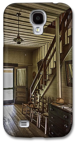 Farmhouse Entry Hall And Stairs Galaxy S4 Case by Lynn Palmer