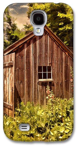 Farming Shed Galaxy S4 Case by Lourry Legarde