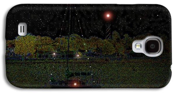 Fat Moon Bay Galaxy S4 Case