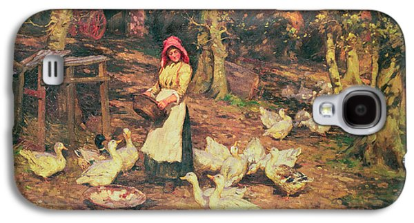 Feeding The Ducks Galaxy S4 Case