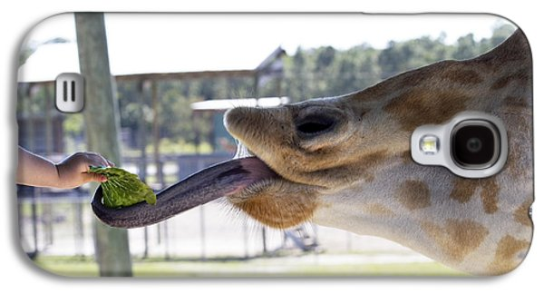 Lettuce Galaxy S4 Case - Feeding Time by Rebecca Cozart