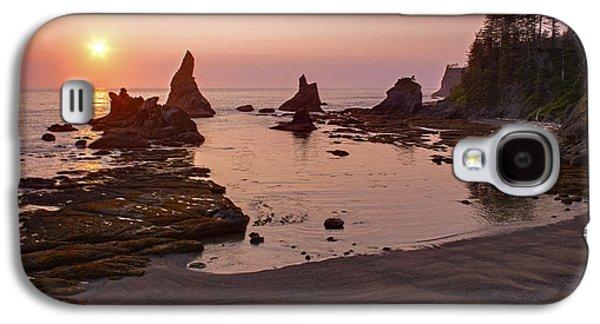 Fiery Coastline Galaxy S4 Case