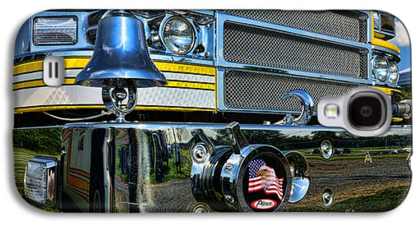 Fireman - Pierce Fire Truck Galaxy S4 Case