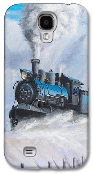 First Train Through Galaxy S4 Case by Christopher Jenkins