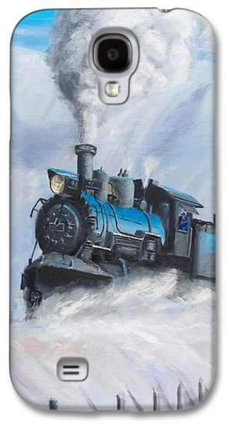 Train Galaxy S4 Case - First Train Through by Christopher Jenkins