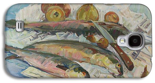Fish Soup Galaxy S4 Case by Juliya Zhukova