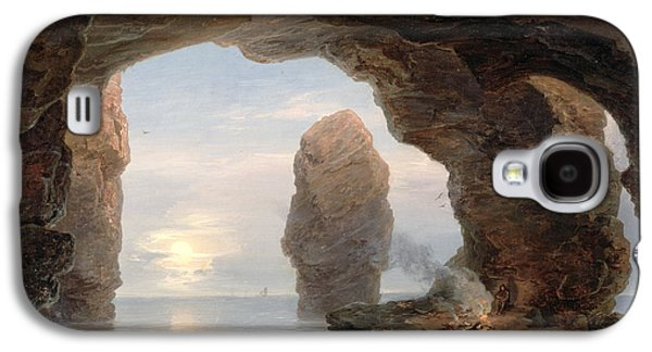 Fisherman In A Grotto Helgoland Galaxy S4 Case
