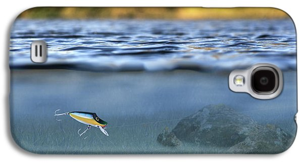 Fishing Lure In Use Galaxy S4 Case