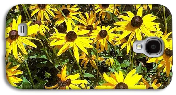 Bright Galaxy S4 Case - Flowers by Lea Ward