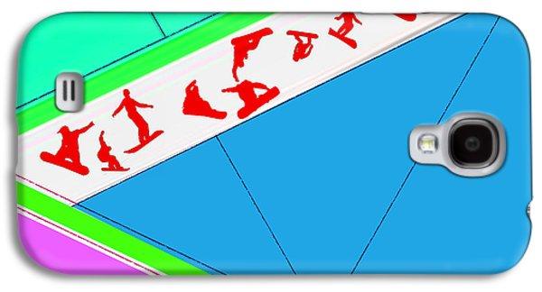 Flying Boards Galaxy S4 Case by Naxart Studio