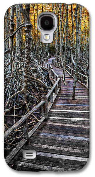 Footpath In Mangrove Forest Galaxy S4 Case by Adrian Evans