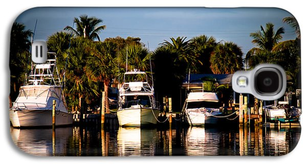 Fort Pierce Marina Galaxy S4 Case