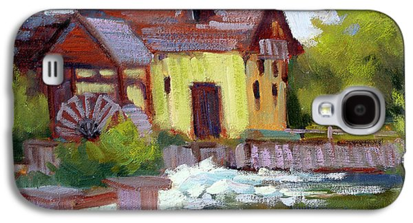 Fourge Mill Giverny Galaxy S4 Case by Diane McClary