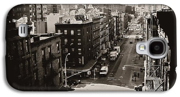 Fragments Of History - Above A New York City Street Galaxy S4 Case by Vivienne Gucwa