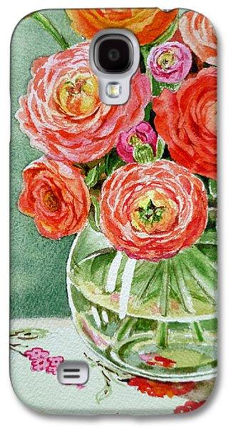 Fresh Cut Flowers Galaxy S4 Case