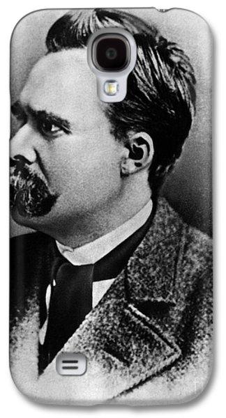 Friedrich Wilhelm Nietzsche, German Galaxy S4 Case by Omikron