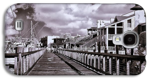Front Street Boardwalk - Infrared Galaxy S4 Case by Bill Barber