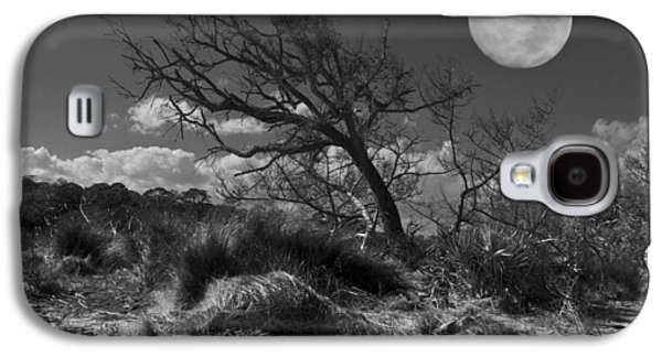 Full Moon Over Jekyll Galaxy S4 Case