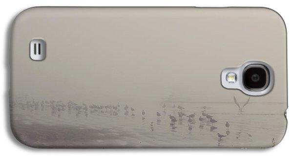 Galveston Island Foggy Morning Galaxy S4 Case by Svetlana Novikova