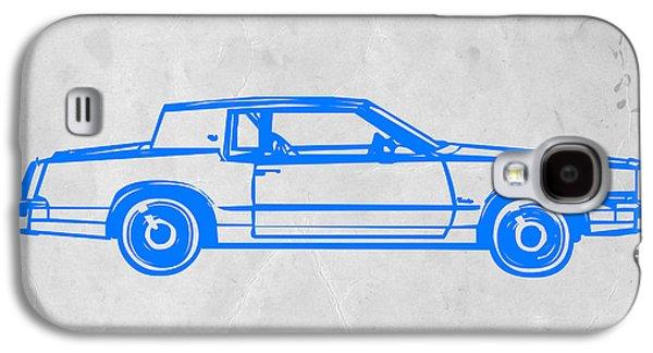Gangster Car Galaxy S4 Case by Naxart Studio