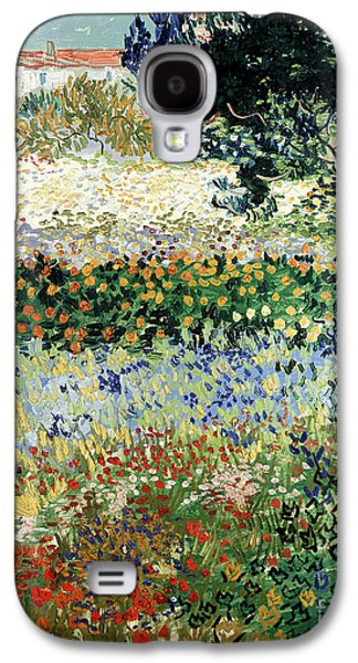 Garden In Bloom Galaxy S4 Case by Vincent Van Gogh